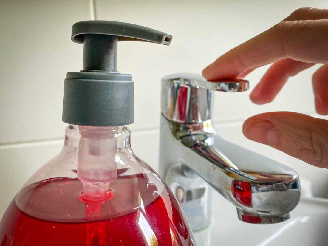 l'art de se laver les mains